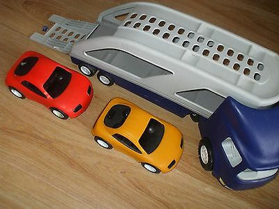 Little Tikes Big Car Transporter With 2 Cars Included