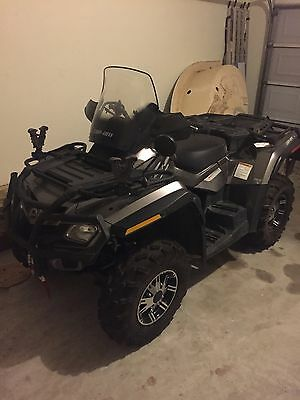 2012  Can Am Outlander Max limited loaded!800 cc w only 324 miles True 2 seater!
