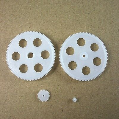 1Set Plastic Gear 4 Models 0.4Mod Packs For Helicopter Aircraft Accessories