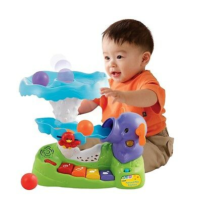 VTech Pop and Play Elephant, Kids Musical Educational Activity Baby Toy