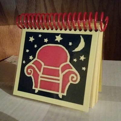 Blue's Clues 'Night-time' Handy Dandy Notebook Thinking Chair w/ 50 Pages!