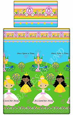 Cot/cot bed/ Toddler/Single bedding pillowcase/ sheet/ curtains/duvet cover Girl