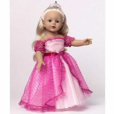 Pink Princess  18'' Madame Alexander Doll, New! Favorite Friends Collection