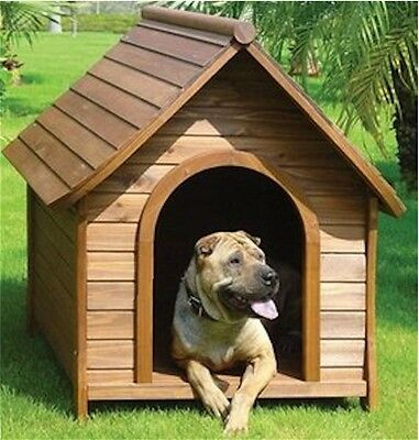 Top Quality, Solid Wood Dog Kennel, Dog House, Dog Home – Sm, Med & Large