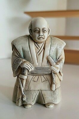 A Quality Antique Japanese Netsuke of late Meiji period  (signed)