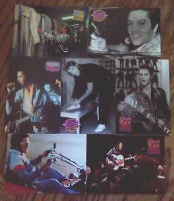 7 Elvis Presley trading cards from 1993- LOOK CLOSELY - Rare Cards HTF - Used