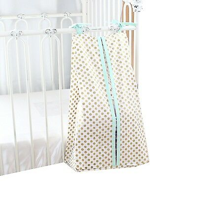 Metallic Gold Dots Nappy Stacker (Mint) - Thanksgiving Sale - .. Shipping Includ