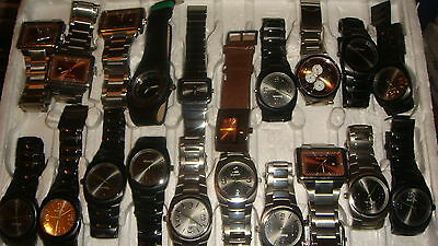 Trade Only Job Lot Of 20 X  Mixed Bench  Watches 100% Gen <,