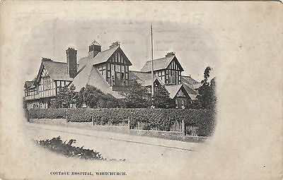 Cottage Hospital Whitchurch Shropshire Postcard early 1900s