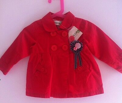 Canada House Girls Beautiful Spring/ Summer Jacket, bought In France 9-12 Months