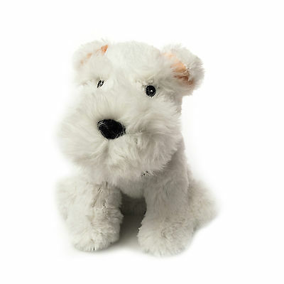 Children's and Kids Fully Microwavable Cozy Plush Animal Toy - Westie Dog