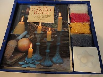 Candle Making Kit First Edition 1995 Gloria Nicol Debbie Patterson Boxed Set