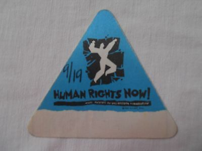 Amnesty International 1988 Philly-Human Rights Now-BACKSTAGE PASS-JFK Stadium