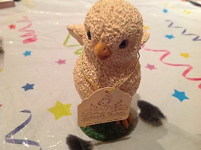 "Ornamental Chick ""collectable Features"". Hand Crafted - Great Xmas Present"