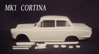 Resin Ford  Mk1 Cortina Body And Chassis Kit 1/24  Scale