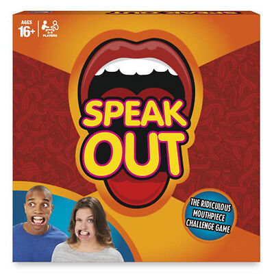 Speakout Mouth Piece Game Party Christmas Fun Family Games Speak Out Compact Box