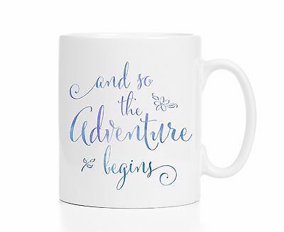 Graduation Mug / Graduation Gift / And So The Adventure Begins Mug