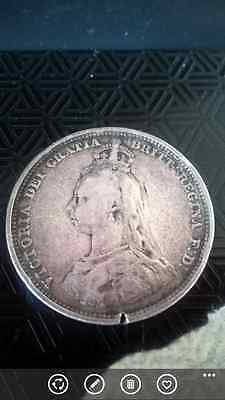 Maundy Coin 1887 Fourpence, Queen Victoria