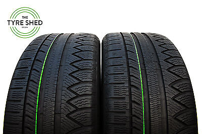 245 45 18 Michelin Pilot Alpin Tyres x2 6.3mm (The Tyre Shed)