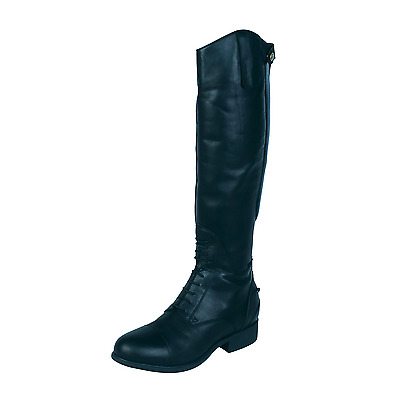 Ariat Bromont Tall H20 Non-Insulated Leather Horse Riding Boots - Black
