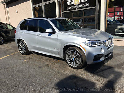 2015 BMW X5 xDrive50i M Sport Package  Heated Leather Front and Rear Seats  Navigation  Back Up Camera