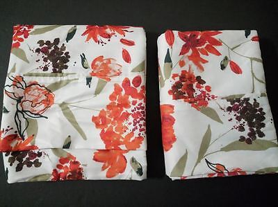 Divatex Tranquil Nights Floral Pattern 2 Queen Pillowcases