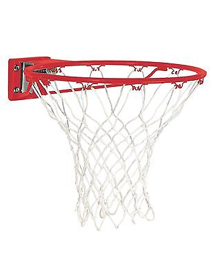 New Huffy Spalding Basketball Accessory 7800s Slam Jam Red Replacement Rim + Net