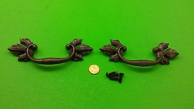 Antique Vintage Bronze Dresser Drawer Handles/pulls