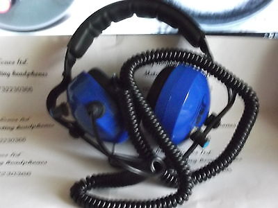 metal detector headphones 32 OHMS in MONO