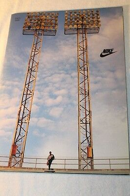 Vintage NIKE Apparel Catalog Fall 1988 Mint Condition
