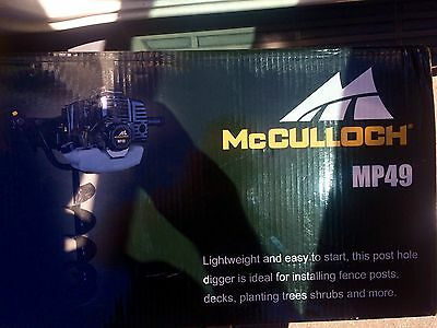 McCullough Post Hole Digger Mp49