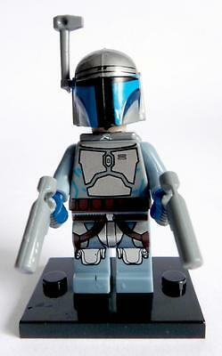 Jango Fett Minifigure - NEW -  Lego compatible figure Star Wars bounty hunter