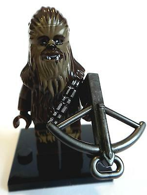 Chewbacca Star Wars Minifigure - NEW -  Lego compatible figurine figure wookie