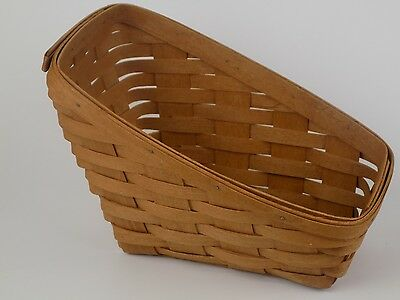Longaberger Vintage Sleigh Body Basket 1991 Stamped and Hand Signed Perfect Gift