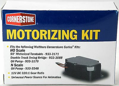 Walthers motorizing kit for 90' Turntable +++ see description