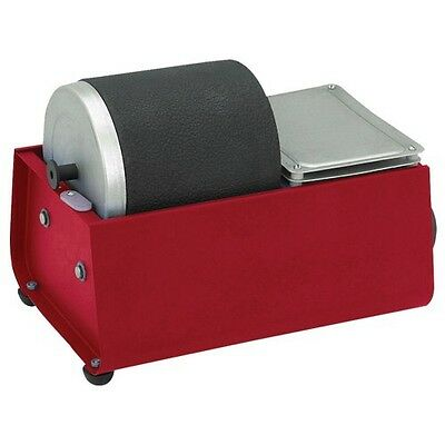 Single Drum Rotary Rock Tumbler Great For Making Jewelry, Gems, Glass and More