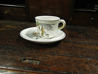 Vintage 'Rhymes' Collection Cup and Saucer- Made in England