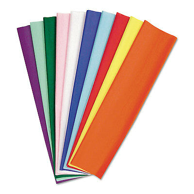 Kolorfast Tissue Assortment, 10 Lbs., 20 X 30, 10 Assorted Colors, 100 Sheets