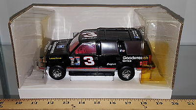 1/25 Brookfield Bank 1995 Chevrolet Tahoe #3 Dale Earnhardt Goodwrench Black