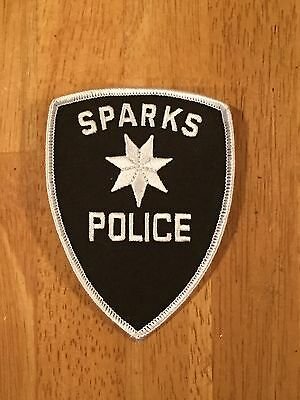 Defunct Sparks Nevada Old Style Police Patch