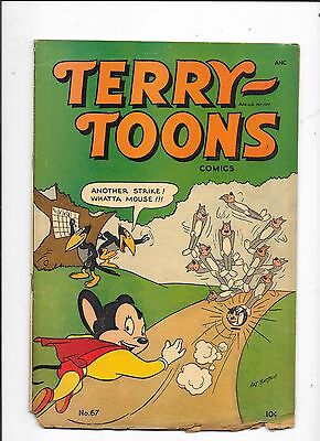 Terry Toons #67 Mighty Mouse St John Publishing (1948)