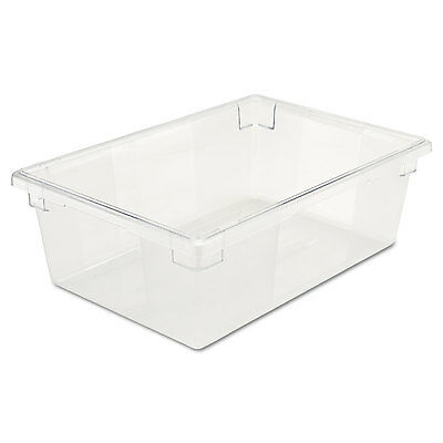 Food/tote Boxes, 12 1/2gal, 26w X 18d X 9h, Clear