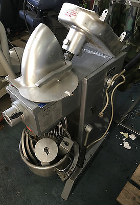 Used Univex 20 Quart M20 Countertop Mixer, Model W/ Attachments