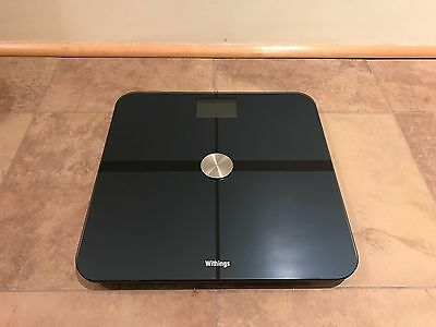 Withings Body Scale WS-50 - Body Composition Wi-Fi Scale, Black