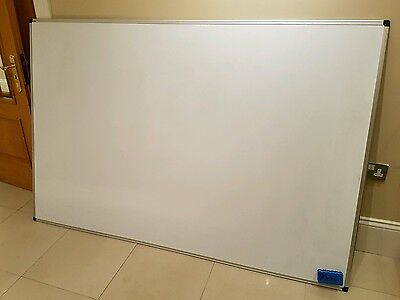 Staples Magnetic Dry Wipe Whiteboard LARGE 1800 x 1200mm Notice £189 Delivery