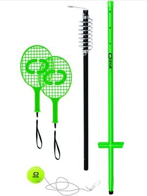 Dunlop Quality Steel Metal Pole Totem Tennis Set Bat Ball on String + EXTRA BALL
