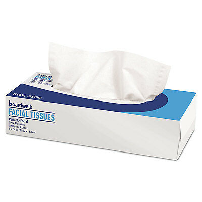 Office Packs Facial Tissue, Flat Box, 100 Sheets/box, 30 Boxes/carton