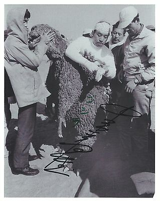 RARE: HARUO NAKAJIMA SIGNED AUTOGRAPHED 8x10 PHOTO ** GODZILLA ** SUIT ACTOR
