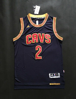 Newest Basketball Jersey Cleveland Cavaliers 2 Kyrie Irving Blue s-xxl