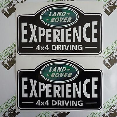 LAND ROVER Experience 4x4 Driving Aftermarket Door DECAL Sticker SET Defender